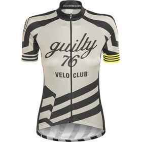 guilty 76 racing Velo Club Pro Race Jersey Donna, grigio
